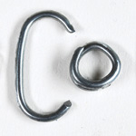 Galvanized Net Rings for Net Ring Tool Kit Battery Tool